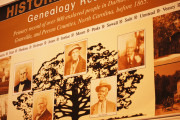Genealogical research is being conducted in collaboration with UNC Chapel Hill to trace descendents of area families.