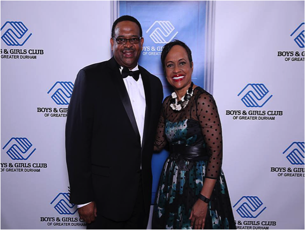 CEO Jerome Levisy with Judge Glenda Hatchett | 2015 Great Futures Gala